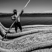 Where: Lake Titicaca,  Peru. <br />