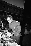 A special screening of the battle scenes from the film 'The Blue Max'  at Ardmore Studios, Bray, Co. Wicklow.<br /> 16.09.1965
