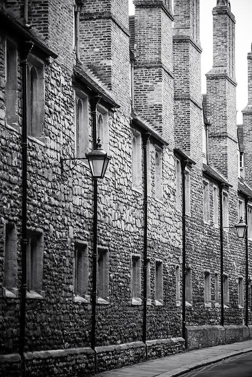Trinity Lane, Cambridge, England.