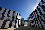 Vienna, Austria. Opening Day of the new WU Campus (University of Economics).<br /> D2 (Departments 2) and SC (Student Center) by Atelier Hitoshi Abe, Sendai.