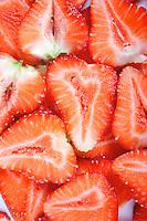 Strawberries - studio shot