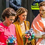 NLD/Tilburg/20170427- Koningsdag 2017, Annet Sekerve, Anita van Eijk en Aimmee Söhngen
