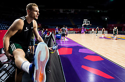 Jaka Blazic of Slovenia at practice session of Team Slovenia 1 day before final match against Serbia at Day 17 of FIBA EuroBasket 2017 at Sinan Erdem Dome in Istanbul, Turkey on September 16, 2017. Photo by Vid Ponikvar / Sportida