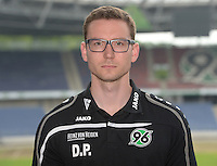 German Soccer Bundesliga 2015/16 - Photocall of Hannover 96 on 13 July 2015 in Hanover, Germany: Teammanager Dominic Prinz