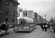 17/3/1966<br /> 3/17/1966<br /> 17 March 1966<br /> <br />  Irish Water Display for St. Patrick's Day Parade