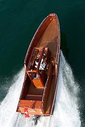 Motorboat Targetta build by Pius Waeger, Luzern Switzerland, images taken 19 & 20 August 2010