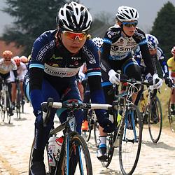 Sportfoto archief 2013<br /> Ronde van Vlaanderen Worldcup women Anouska Koster