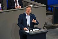 DEU, Deutschland, Germany, Berlin, 15.03.2018: Ralph Lenkert (DIE LINKE) bei einer Rede im Deutschen Bundestag.