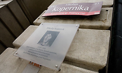 Monument of Nikolaj Kopernik in Warsaw,  on September 04, 2009, Poland. (Photo by Vid Ponikvar / Sportida)