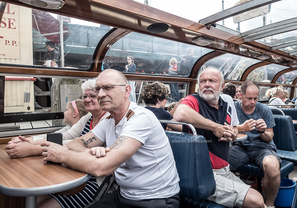 Amsterdam , cruising on the canals