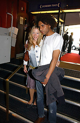 Actress NATALIE PRESS and MATTHEW GARDNER at a private screening of 'Sketches of Frank Gehry in association with jewellers Tiffany held at the Curzon Cinema, Mayfair on 10th May 2006 followed by a party at Nobu Mayfair, Berkeley Street.<br /><br />NON EXCLUSIVE - WORLD RIGHTS