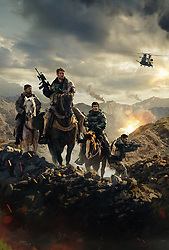 RELEASE DATE: January 19, 2018 TITLE: 12 Strong STUDIO: Lionsgate DIRECTOR: Nicolai Fuglsig PLOT: 12 Strong tells the story of the first Special Forces team deployed to Afghanistan after 9/11; under the leadership of a new captain, the team must work with an Afghan warlord to take down the Taliban. STARRING: Chris Hemsworth, Michael Shannon, Michael Pena. (Credit Image: ? Lionsgate/Entertainment Pictures/ZUMAPRESS.com)