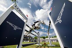 Verlooy Jos, BEL, Caracas<br /> Deutsches Spring- und Dressur Derby Hamburg 2018<br /> Longines Global Champions Tour<br /> Grand Prix of Hamburg<br /> © Hippo Foto - Stefan Lafrentz<br /> 12/05/2018