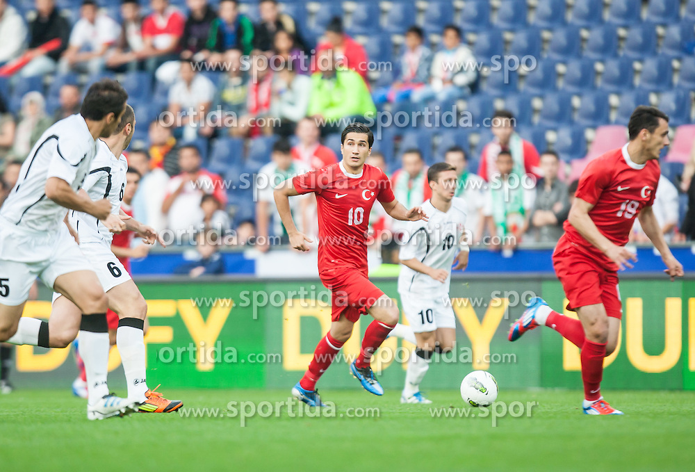 24.05.2012, Red Bull Arena, Salzburg, AUT, SLFC Summerleague, Tuerkei vs Georgien, im Bild Nuri Sahin, (TUR, #10) // Nuri Sahin, (TUR, #10) during friendly Football Match between the Nationateams of Turkey and Georgia at the Red Bull Arena, Salzburg, Austria on 2012/05/24. EXPA Pictures © 2012, PhotoCredit: EXPA/ Juergen Feichter