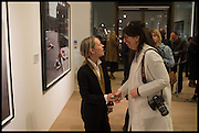 LOU PROUD; ANNE BERNECKER  Steven Meisel: Role Play - private view Phillips,, Berkeley Sq. London. 16 December 2014.