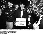 Barry Norman at the Vanity Fair Oscar Night Party Mortons,  Los Angeles. 25 March 1996<br />
