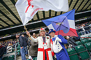 England and France mascots looks on during the RBS 6 Nations match at Twickenham Stadium, Twickenham<br /> Picture by Andrew Tobin/Focus Images Ltd +44 7710 761829<br /> 21/03/2015
