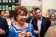 KATHY LETTE, Rachel's Johnson's 'A Diary of the Lady'book launch at The Lady's offices. Covent Garden. London. 30 September 2010. -DO NOT ARCHIVE-© Copyright Photograph by Dafydd Jones. 248 Clapham Rd. London SW9 0PZ. Tel 0207 820 0771. www.dafjones.com.