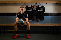 Sam Simmonds - Mandatory by-line: Dougie Allward/JMP - 18/09/2018 - RUGBY - Sandy Park Stadium - Exeter, England - Exeter Chiefs v  - Exeter Chiefs Training