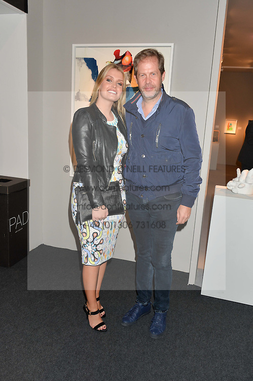 LADY KITTY SPENCER and NICCOLO BARATTIERI at the PAD London 10th Anniversary Collector's Preview, Berkeley Square, London on 3rd October 2016.