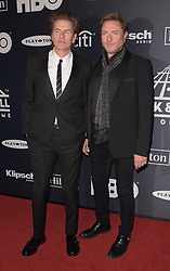 March 30, 2019 - Brooklyn, New York, USA - NEW YORK, NEW YORK - MARCH 29: John Taylor and Simon Le Bon of Duran Duran attends the 2019 Rock & Roll Hall Of Fame Induction Ceremony at Barclays Center on March 29, 2019 in New York City. Photo: imageSPACE (Credit Image: © Imagespace via ZUMA Wire)