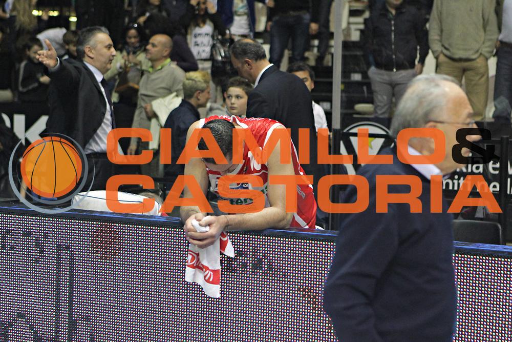 DESCRIZIONE : Bologna Lega A 2010-11 Canadian Solar Bologna Banca Tercas Teramo<br /> GIOCATORE : Davis Josh<br /> SQUADRA :  Banca Tercas Teramo<br /> EVENTO : Campionato Lega A 2010-2011 <br /> GARA : Canadian Solar Bologna Banca Tercas Teramo<br /> DATA : 15/05/2011<br /> CATEGORIA : Delusione<br /> SPORT : Pallacanestro <br /> AUTORE : Agenzia Ciamillo-Castoria/D.Vigni<br /> Galleria : Lega Basket A 2010-2011 <br /> Fotonotizia : Bologna Lega A 2010-11 Canadian Solar Bologna Banca Tercas Teramo<br /> Predefinita :