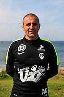 Anthony Grech Angelini - 09.09.2015- Photo Officielle de Brest - Ligue 2<br /> Photo : Philippe Le Brech / Icon Sport