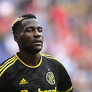 HARRISON, NEW JERSEY- OCTOBER 16:  Tony Tchani #6 of Columbus Crew during the New York Red Bulls Vs Columbus Crew SC MLS regular season match at Red Bull Arena, on October 16, 2016 in Harrison, New Jersey. (Photo by Tim Clayton/Corbis via Getty Images)