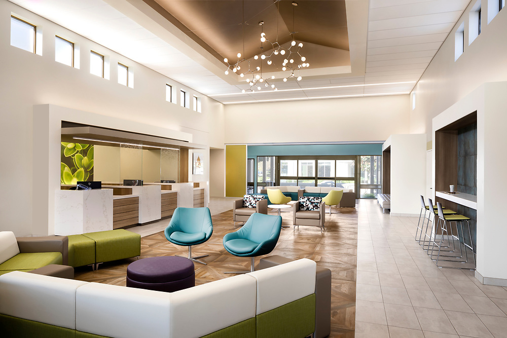 Interior of Kaiser Behavioral Health  Elk Grove, CA
