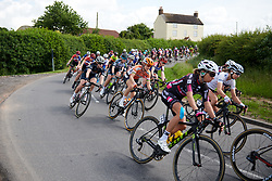 Amalie Dideriksen (DEN) at OVO Energy Women's Tour 2018 - Stage 3, a 151 km road race from Atherstone to Leamington Spa, United Kingdom on June 15, 2018. Photo by Sean Robinson/velofocus.com