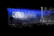 Pixs taken of christmas lights  around Cronulla area.