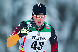 30.11.2014, Nordic Arena, Ruka, FIN, FIS Weltcup Langlauf, Kuusamo, 15 km Herren, im Bild Josef Wenzl (GER) // Josef Wenzl of Germany during Mens 15 km Cross Country Race of FIS Nordic Combined World Cup at the Nordic Arena in Ruka, Finland on 2014/11/30. EXPA Pictures © 2014, PhotoCredit: EXPA/ JFK