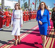 Queen Rania & King Abdullah Visit Morocco