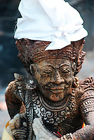 A temple statue from Bali, Indonesia.