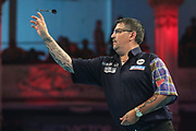 Gary Anderson during the BetVictor World Matchplay Darts 2018 semi final at Winter Gardens, Blackpool, United Kingdom on 28 July 2018. Picture by Shane Healey.