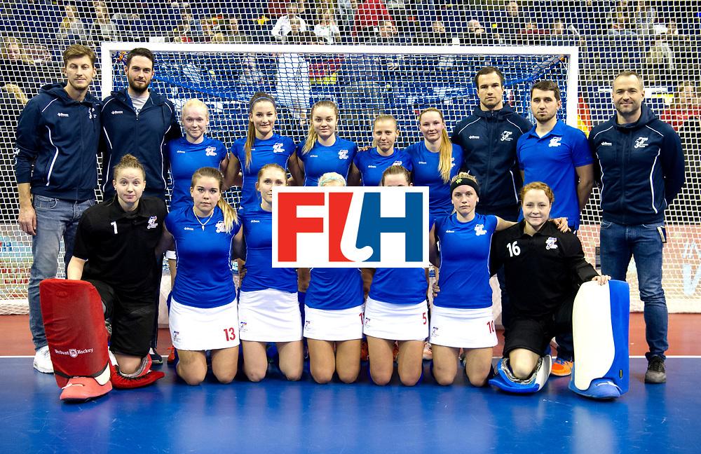 BERLIN - Indoor Hockey World Cup<br /> Quarterfinal 4: Netherlands - Czech Republic<br /> foto: Czech Republic.<br /> WORLDSPORTPICS COPYRIGHT FRANK UIJLENBROEK