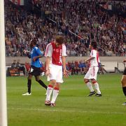 NLD/Amsterdam/20060823 - Ajax - FC Kopenhagen, woede en teleurstelling bij Klaas Jan Huntelaar