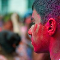 Kathmandu: Holi 2014