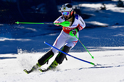 AIGNER Veronika, Guide: AIGNER Elizabeth, B2, AUT, Slalom at the WPAS_2019 Alpine Skiing World Cup, La Molina, Spain