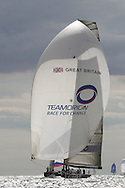 ENGLAND, Cowes, 2nd August 2010. 1851 Cup Regatta. TEAMORIGIN.