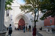 Carmo Archeological Museum, Largo do Carmo, Lisbon, Portugal