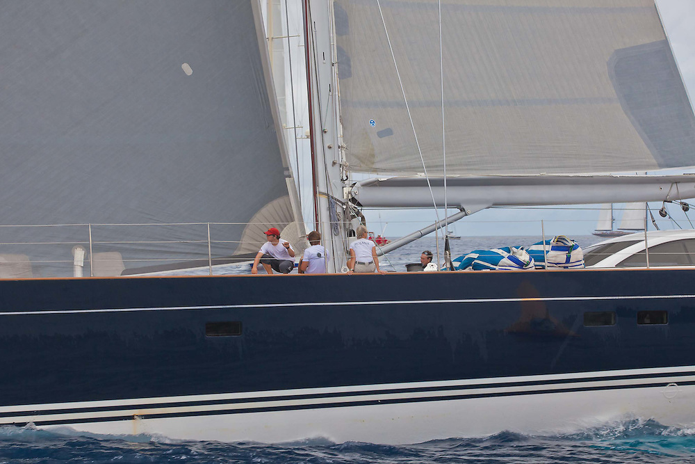 The start of the 2012 St. Barth's Bucket in St. Barths.