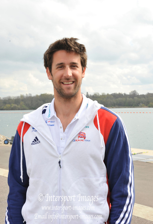 Caversham, Great Britain. GBR M8+ Bow  Tom James, .  2012 GB Rowing World Cup Team Announcement Wednesday  04/04/2012  [Mandatory Credit; Peter Spurrier/Intersport-images]