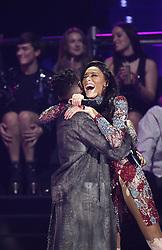 Tinie Tempah und Winnie Harlow bei Verleihung der MTV Europe Music Awards in Rotterdam / 061116<br /> <br /> *** The show during the MTV Europe Music Awards in Rotterdam, Netherlands, November 06, 2016 ***