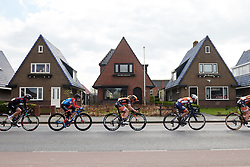 Amy Pieters (NED) and Kathrin Hammes (GER) at Healthy Ageing Tour 2019 - Stage 2, a 134.4 km road race starting and finishing in Surhuisterveen, Netherlands on April 11, 2019. Photo by Sean Robinson/velofocus.com