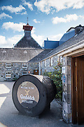 Touring the Glenfiddich Distillery in Speyside, Scotland with SUP the Mag, Mitch Bechard, Will Taylor, Jon Arman and Terri Bryce.