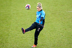 Natasha Hunt of England Women - Mandatory by-line: Robbie Stephenson/JMP - 10/02/2019 - RUGBY - Castle Park - Doncaster, England - England Women v France Women - Women's Six Nations
