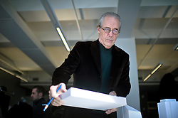 Fri Nov 18, 2011:  Portrait of Bill Pedersen, the architect of the Hudson Yards project, in the offices of Kohn Pedersen Fox. Credit: Rob Bennett for The Wall Street Journal   Slug: NYSPACES