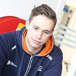 19-02-2020: Wielrennen: persmoment KNWU: Alkmaar <br />Hrry Lavreijsen