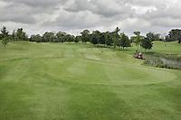 STAFFAN (Ierland) - K CLUB bij Dublin, de golfbaan waar in 2006 de Ryder Cub wordt gespeeld. Hole 14.
